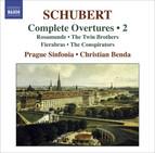 Schubert, F.: Overtures (Complete), Vol. 2