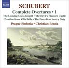 Schubert, F.: Overtures (Complete), Vol. 1