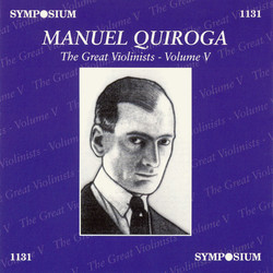 The Great Violinists, Vol. 5 (1912-1929)