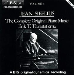 Sibelius - Complete Original Piano Music, Vol.6