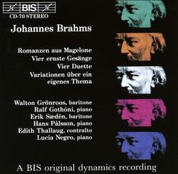 Brahms - Songs