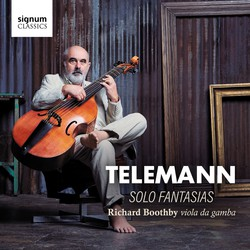 G.P. Telemann: 12 Fantasies for Viola da gamba, TWV 40:26-37