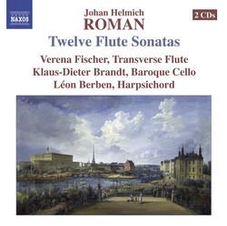 Roman, J.H.: 12 Flute Sonatas