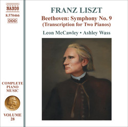 Liszt: Beethoven - Symphony No. 9 (Arr. for 2 Pianos)