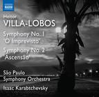 Villa-Lobos: Symphonies Nos. 1 & 2