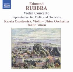 Rubbra: Violin Concerto, Op. 103 / Improvisations, Op. 89