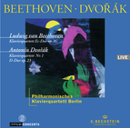 Beethoven: Piano Quartet Op.16 / Dvořák: Piano Quartet Op.23 / Philharmonisches Klavierquartett Berlin