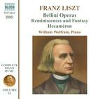 Liszt Complete Piano Music, Vol. 31: Bellini Operas