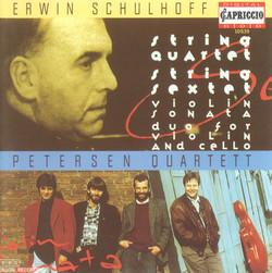 Schulhoff, E.: String Quartet / Violin Sonata / Duo for Violin and Cello / String Sextet