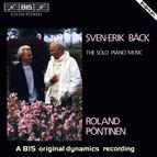 Bäck - Solo Piano Music