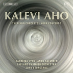 Aho – Theremin and Horn Concertos