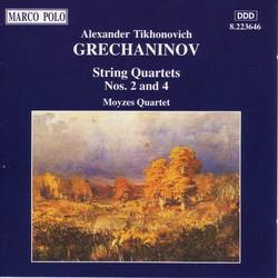 Grechaninov: String Quartets Nos. 2 and 4