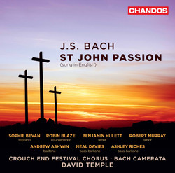 J.S. Bach: St. John Passion, BWV 245 (Sung in English)