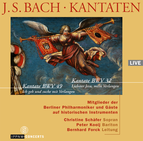 J.S. Bach:  Cantatas BWV 32 / BWV 49 / Members of the Berlin Philharmonic and Friends / Christine Schäfer / Peter Kooij / Bernhard Forck