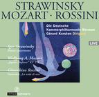 Stravinsky: Danses concertantes / Mozart: Symphony No. 41 'Jupiter' / Rossini: Overture 'La scala di seta' / Deutsche Kammerphilharmonie Bremen / G. Korsten