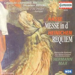 Hasse, J.A.: Mass in D Minor / Heinichen, J.D.: Requiem in E-Flat Major