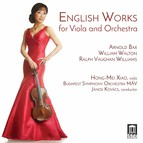 English Works for Viola & Orchestra