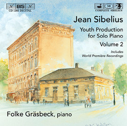 Sibelius - Youth Production for Solo Piano, Vol.2