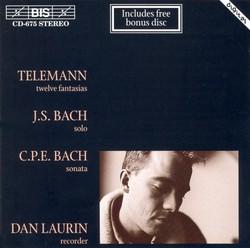 TELEMANN / BACH / BACH, C.P.E.: Flute Music