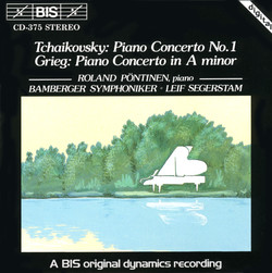 Piano Concertos by Tchaikovsky and Grieg