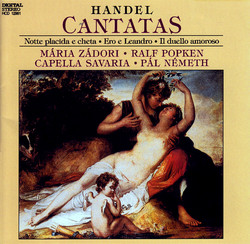 Handel: Cantatas (Hwv 82, 142 and 150)