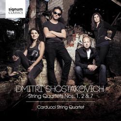 Shostakovich: String Quartets Nos. 1, 2 & 7