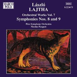 Lajtha: Symphonies Nos. 8 and 9
