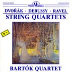 Dvořák - Debussy - Ravel: String Quartets