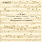 C. P. E. Bach - Keyboard Concertos, Vol.18