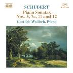 Schubert: Piano Sonatas Nos. 5, 7A, 11 and 12 (Fragments)