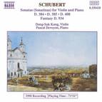 Schubert: Violin Sonatas (Sonatinas)
