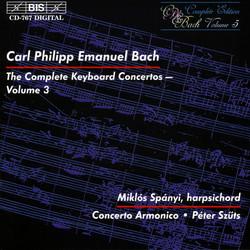 C.P.E. Bach - Keyboard Concertos, Vol.3