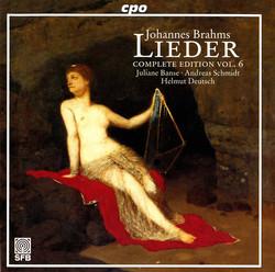 Brahms: Lieder (Complete Edition, Vol. 6)