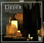 Brahms: Lieder (Complete Edition, Vol. 5)