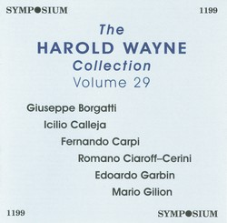 The Harold Wayne Collection, Vol. 29 (1904-1913)