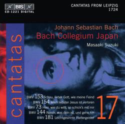 J.S. Bach - Cantatas, Vol.17 (BWV 153, 154, 73, 144, 181)