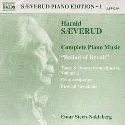 Saeverud: Complete Piano Music, Vol. 1