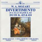Trio Divertimento in E Flat Major K. 563 - Duos K. 423 and 424