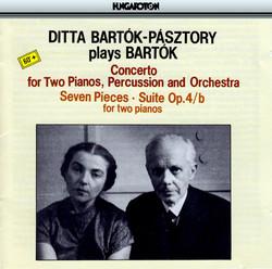 Ditta Pásztory-Bartók plays Bartók