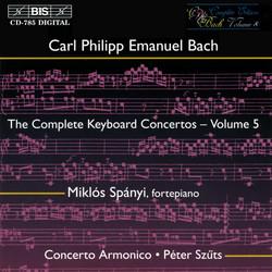 C.P.E. Bach - Keyboard Concertos, Vol.5