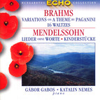 Brahms: Variations On A Theme by Paganini / 16 Waltzes / Mendelssohn: Songs Without Words (Excerpts)