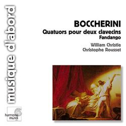 Boccherini: Fandango; Quartuors pour deux clavecins I-VI