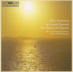 SKALKOTTAS: 36 Greek Dances/The Return of Ulysses