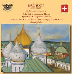 Juon: Orchestral Works, Vol. 2