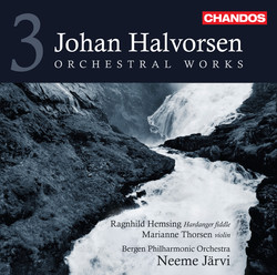 Halvorsen: Orchestral Works, Vol. 3