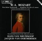 Mozart - Transcriptions for Organ Duet