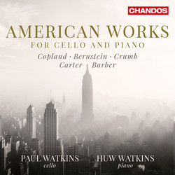 American Works for Cello & Piano