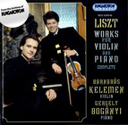 Liszt: Works for Violin and Piano Complete