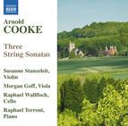 Cooke: 3 String Sonatas
