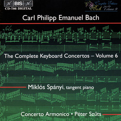 C.P.E. Bach - Keyboard Concertos, Vol.6
